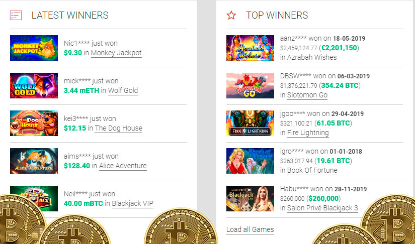 Fort knox bitcoin slot machine online